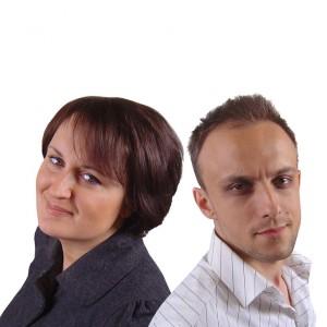 Agnieszka Pietrzak i Remigiusz Laskowski, założyciele pracowni Laskowscy Design.