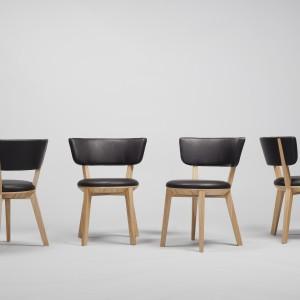 Projektowanie dla znanych marek to ogromna odpowiedzialność. Na zdjęciu: krzesła Gnu projektu Tomka Rygalika dla marki Comforty.