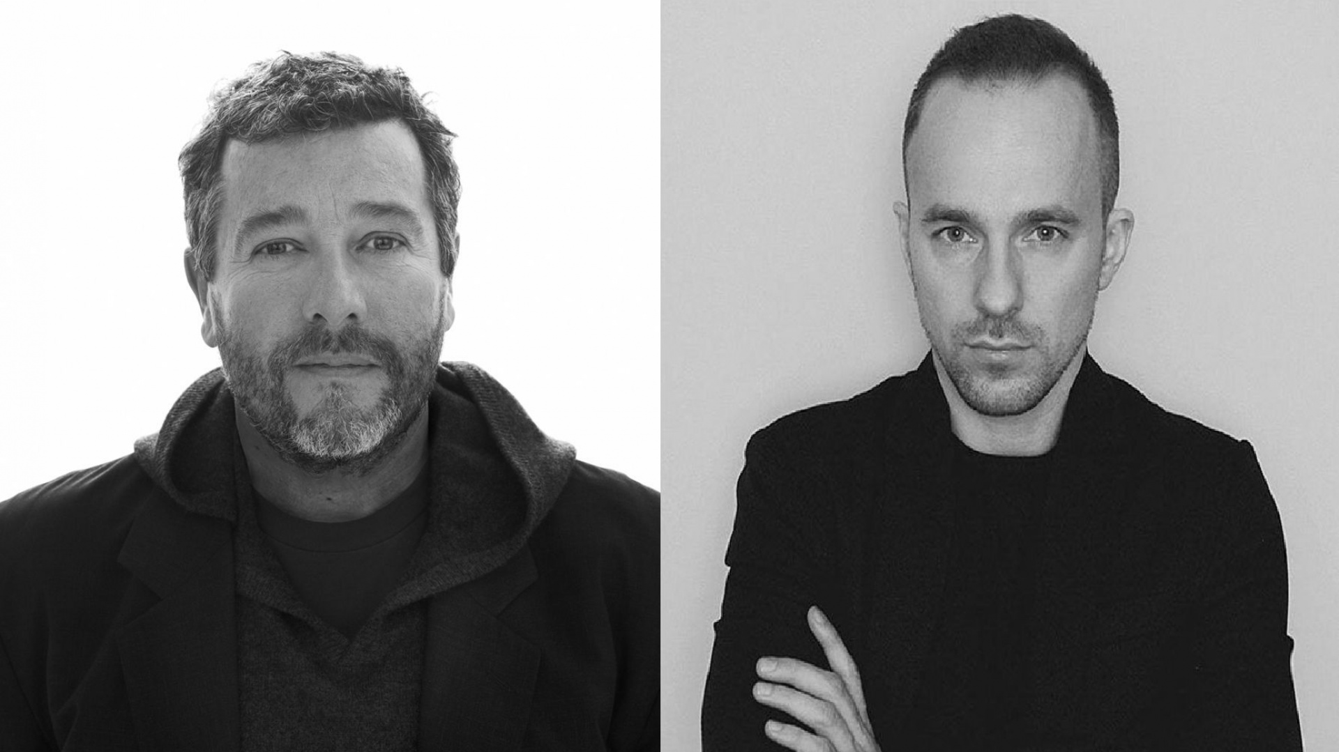 Philippe Starck i Bogusław Barnaś. Fot. Archiwum