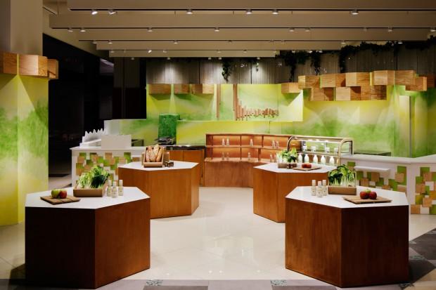 Yume Marche to sklep spożywczy zlokalizowany w Chibie, którego wnętrze zaprojektował znany japoński architekt, Moriyuki Ochiai. Sklep (połączony z kawiarnią) należy do firmy Dream Dairy Farm, która dostarcza do niego świeże produkty pochodząc