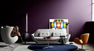 Baza z satynowanego, polerowanego aluminium, forma z pianki poliuretanowej i tapicerka z naturalnej skóry lub tkaniny. Tak wygląda kultowy fotel Egg, projektu słynnego Arne Jacobsena.