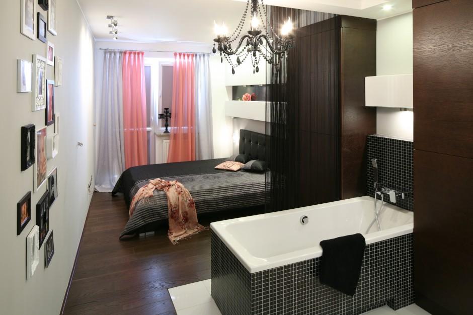 Sypialnia z łazienką tworzą...  Sypialnia z łazienką. Sprawdzone pomysły na aranżacje