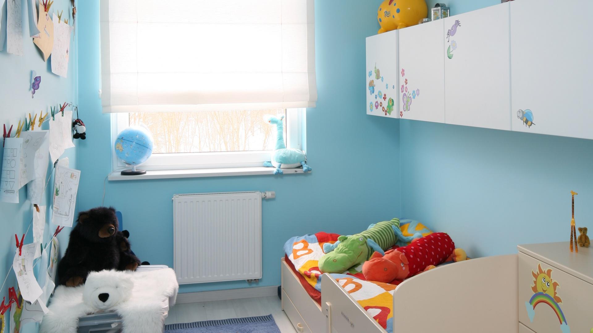 addd9dfd44a150 Pokój dziecka w niebieskim kolorze: galeria zdjęć
