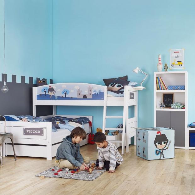 Pokój dziecka w niebieskim kolorze: galeria zdjęć