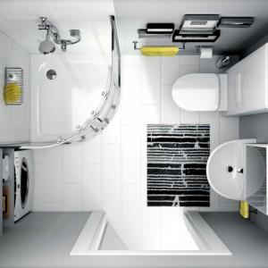 Kolekcja Nova Pro to wiele wzorów ceramiki, mebli i akcesoriów łazienkowych. Bogactwo rozwiązań sprzyja aranżowaniu niedużych pomieszczeń, które będą nie tylko funkcjonalne, ale również estetycznie urządzone. Fot. Koło.