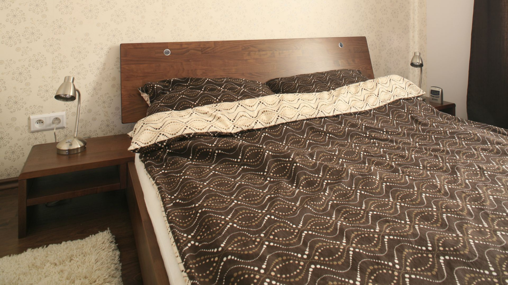 Piękna Ciepła Sypialnia Zobacz Wnętrza W Beżach I Brązach