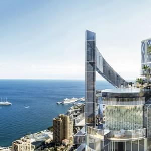 5-piętrowy penthouse ma swój prywatny basen, zlokalizowany na dachu wieżowca, ponad 150 metrów nad ziemią. Fot. Marzocco Group.