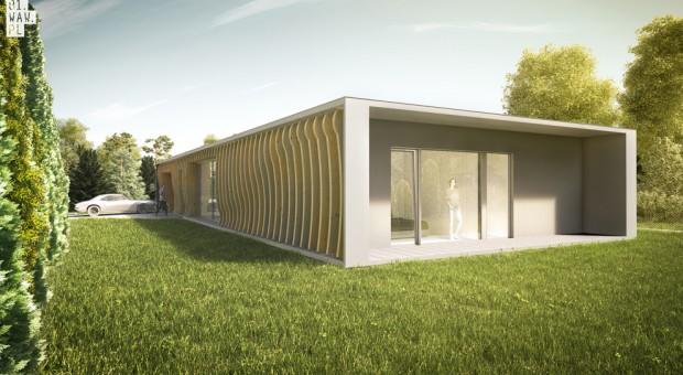 Dom o formie żyletki! Zobacz jak wygląda projekt
