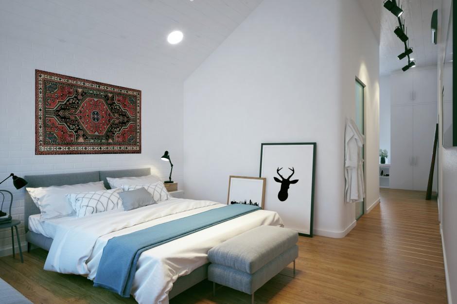Sypialnia małżeńska...  Przestronny, funkcjonalny dom rodziny z 3 dzieci  Strona: 6