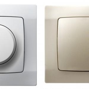 Szeroki wybór kolorów i kształtów elementów osprzętu elektrycznego w asortymencie Ospel pozwala na dobranie łącznika czy gniazda elektrycznego, które nie tylko nie zaburzy całej kompozycji, a stanie się jej ciekawym uzupełnieniem. Fot. Ospel, kolekcja Karo.