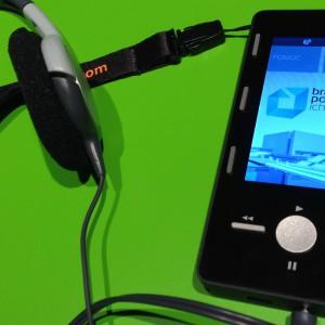 MOVI Guideto przenośny audioprzewodnik przeznaczony do multimedialnego zwiedzania obiektów zamkniętych oraz przestrzeni otwartych. Tomasz Augustyniak zaprojektował go dla marki Movi-tech. Fot. Movi-tech.