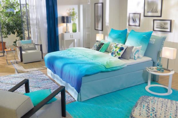 15 pomysłów na kolorową sypialnię