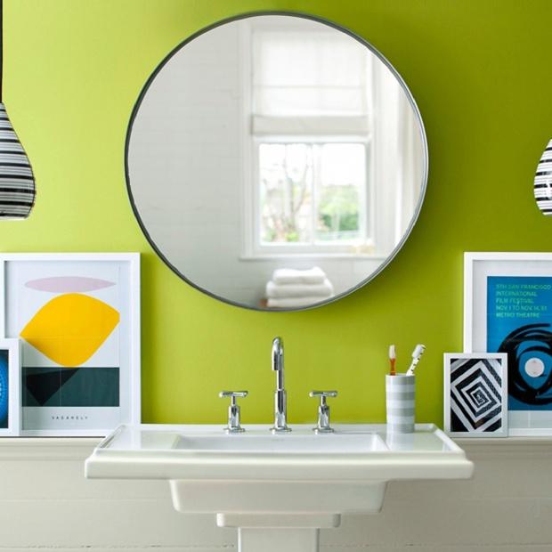 Pomysł na ściany. Farby do łazienki