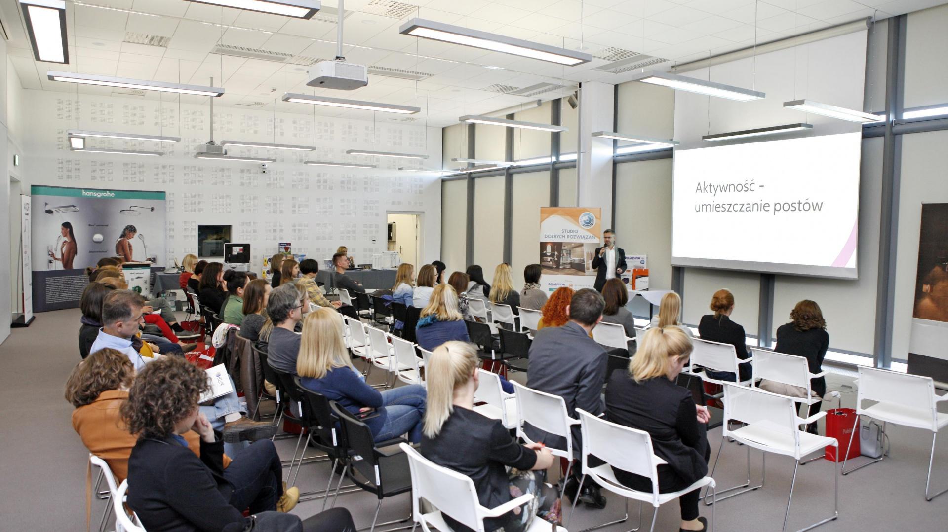 Studio Dobrych Rozwiązań, które odbyło się w Białymstoku cieszyło się ogromnym zainteresowaniem architektów i projektantów. Fot. Bartosz Jarosz.