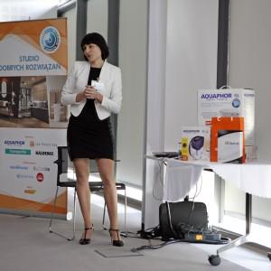 Anna Spalony reprezentowała firmę Cad Projekt K&A.  / fot. Bartosz Jarosz