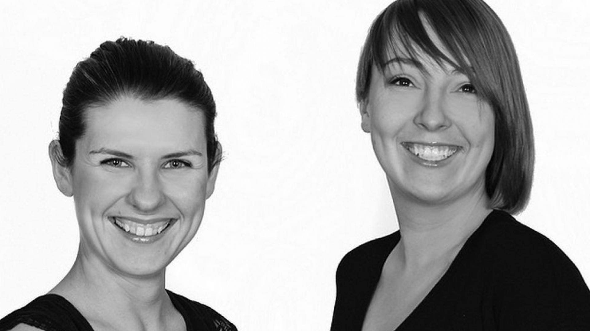 Agnieszka Goryjewska i Karolina Górnisiewicz z biura projektowego Your Interiors. Fot. Archiwum