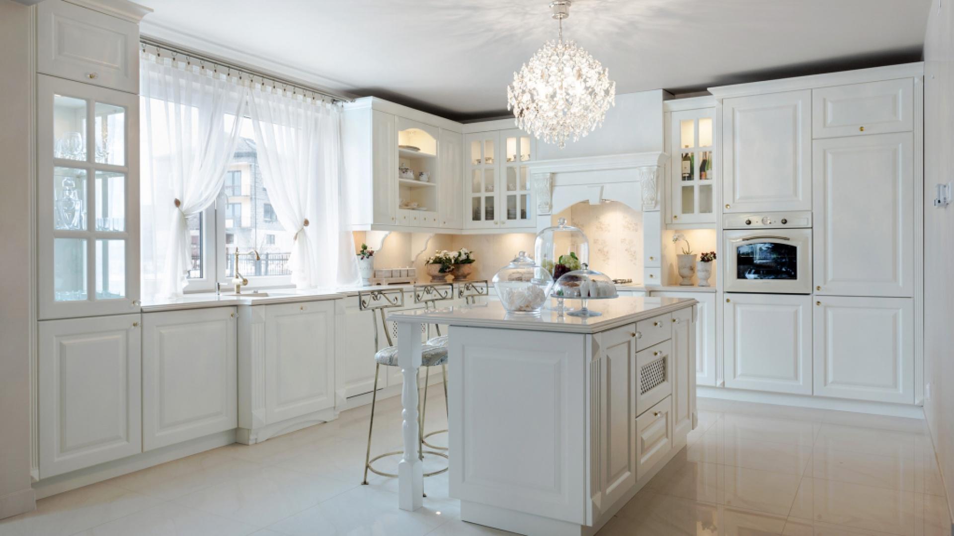 bardzo piękna klasyczna najpiękniejsze kuchnie w