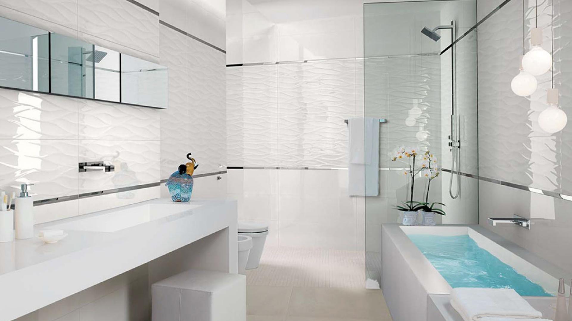 Białe Płytki Do łazienki 12 Nowych Kolekcji