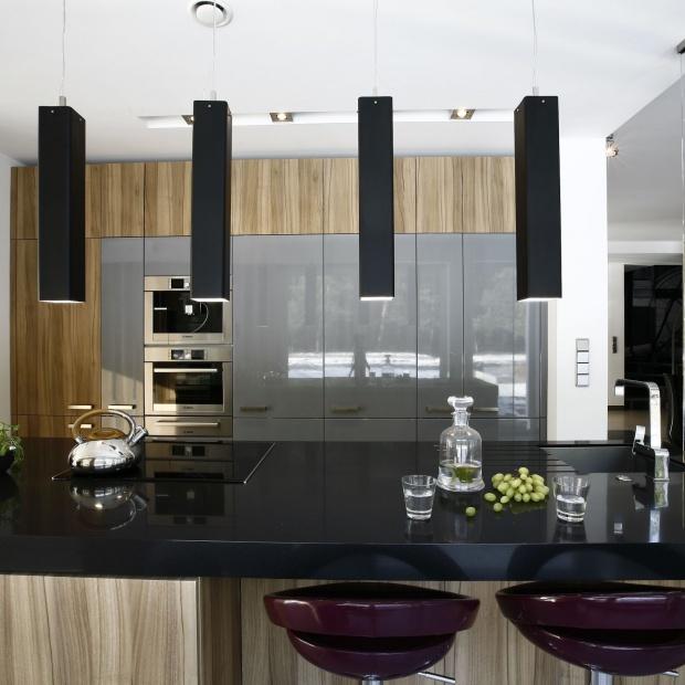 Blat w kuchni - pomysły na oświetlenie