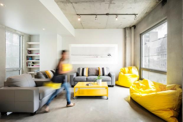 Wnętrze w betonie. Niesamowity projekt