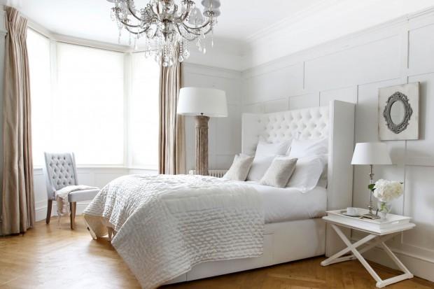 Elegancka sypialnia - pomysły na aranżację