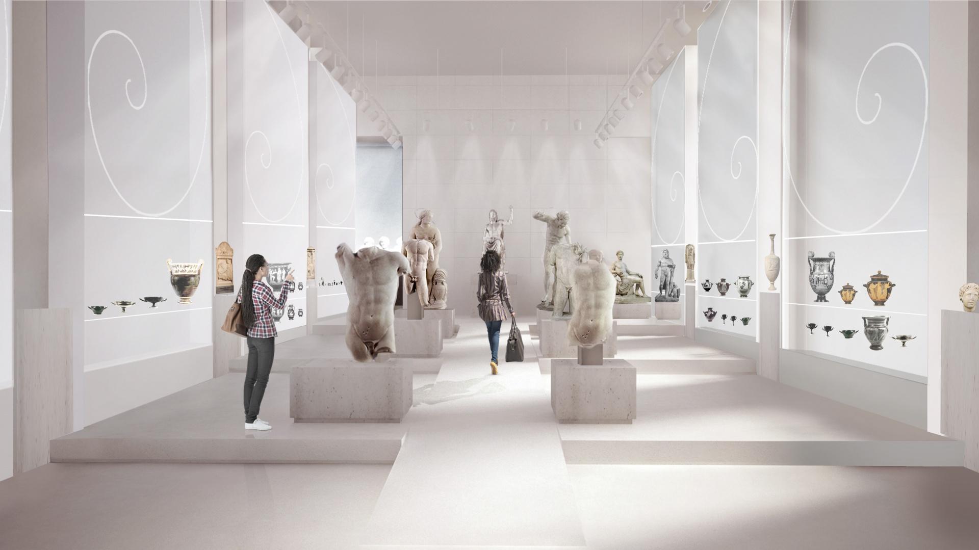 Galeria Sztuki Starożytnej. Projekt Nizio Design International. Fot. Archiwum