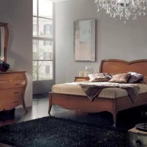 Elegancka, stylowa sypialnia 8452 oferowana przez firmę Rad-Pol. Fot. Mega Meble.