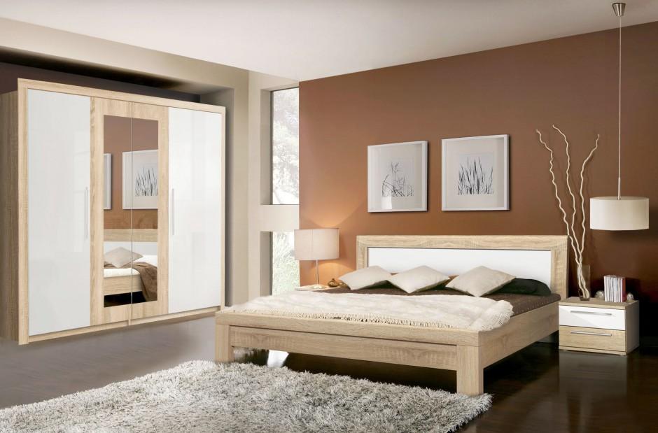 Sypialnia Julietta marki...  Meble do sypialni z rysunkiem drewna. 15 nowości  Strona: 13