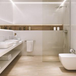 Jasna łazienka Ocieplona Drewnem Zobacz Piękne Aranżacje
