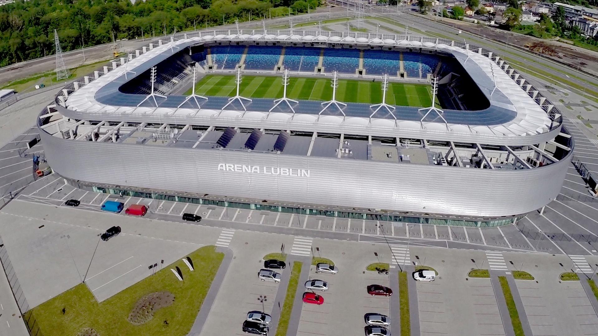 Arena Lublin. Fot. Mateusz Wrześniewski.