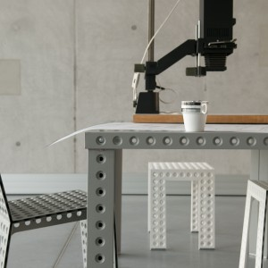 Niepowtarzalny design systemu 3+ stworzony przy pomocy technologii stabilizacji blachy. Projekt: Zieta Prozessdesign. Fot. Zieta Prozessdesign.