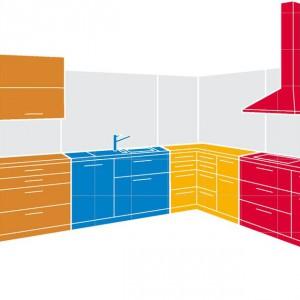 Projektując kuchnię warto zaplanować odpowiednio poszczególne strefy, żeby pracowało się łatwiej i przyjemniej. Fot. Blum.