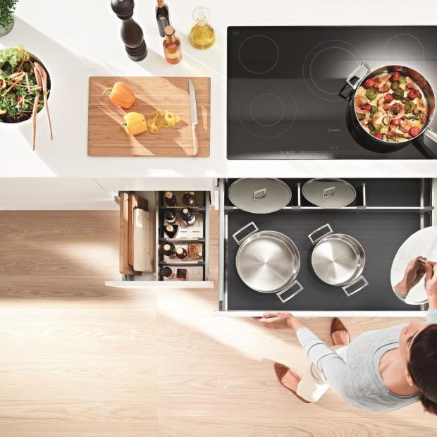 Jak zaplanować kuchnię, by pracowało się w niej bez wysiłku?