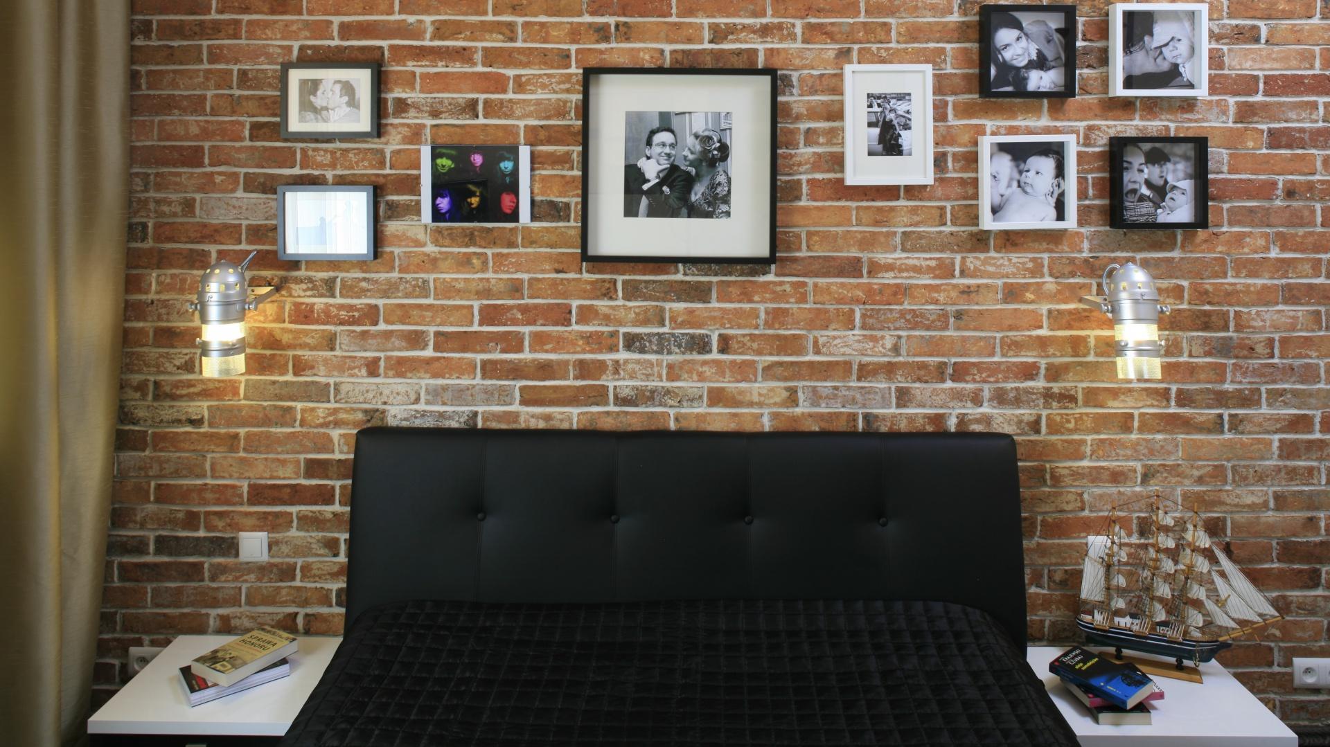 ściana W Sypialni Piękne Aranżacje Z Drewnem Kamieniem Cegłą
