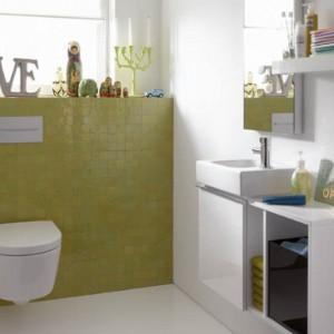 Ceramika łazienkowa z seri iCon XS to miski sedesowe i umywalki o modernistycznym wyglądzie, które świetnie będą pasowały do nowoczesnych łazienek. Fot. Koło.