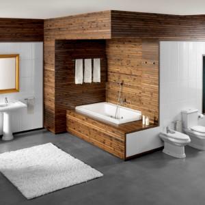 Elegancki styl ceramiki łazienkowej America emanuje spokojem, nawiązując do stylu klasyków. Seria zaprojektowana przez Marcello Cutino ma idealne proporcje, a dopracowane do każdego szczegółu kształty są ponadczasowym rozwiązaniem. Fot. Roca.
