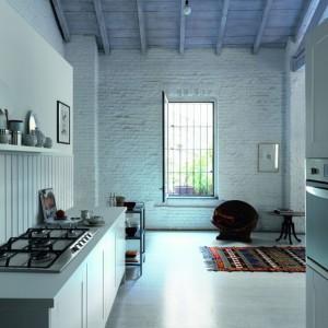 Do kuchni w stonowanych, pastelowych odcieniach idealnie będzie pasowała płyta grzewcza Trend Line, która ma delikatny, kremowy kolor. Fot. Franke.