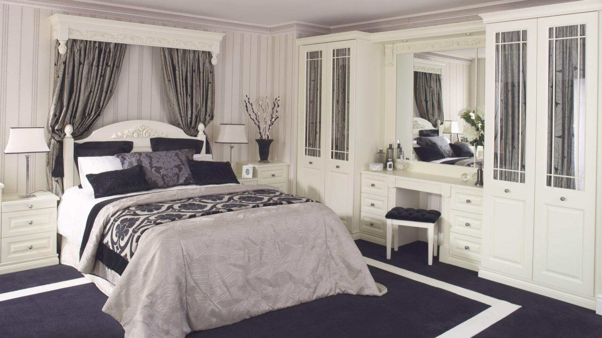 Sypialnia Z Toaletką Inspiracje Zdjęcia