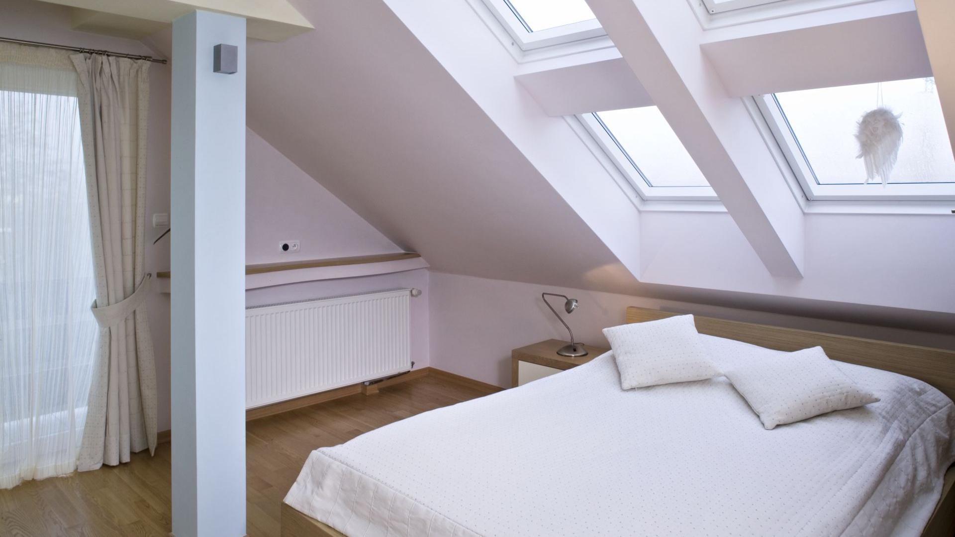 Sypialnia Na Poddaszu Pomysły Na Jasne Wnętrze