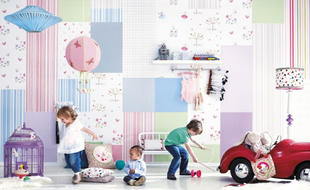 Fototapeta z gwiazdami...  Piękne ściany w pokoju dziecka. Najciekawsze dekoracje  Strona: 10