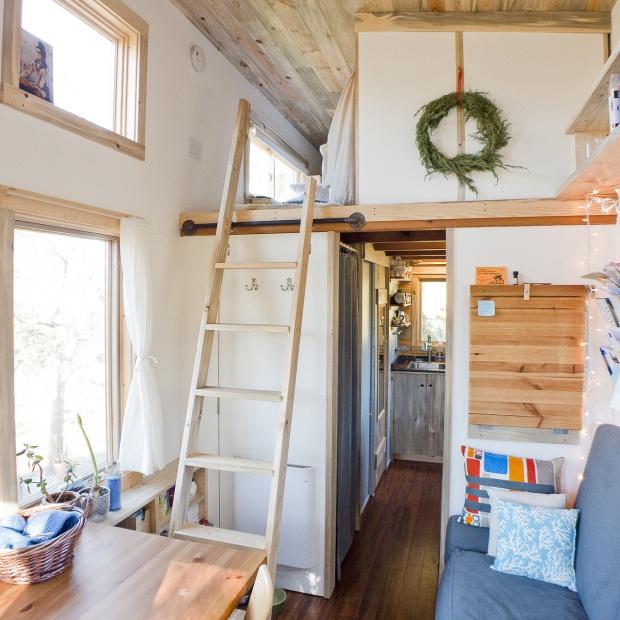 Bardzo mały dom. Tak można mieszkać na 22 metrach