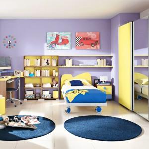 Zdaniem specjalistów, pastelowe, dopasowane do siebie barwy, budują spokojne i bezpieczne dla dziecka środowisko. W takim pomieszczeniu dzieci łatwiej się relaksują i odpoczywają. Fot. Colombini Casa.