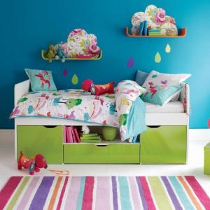 Dzieci lubią żywe kolory jednak urządzając wnętrze należy zachować zdrowy umiar. Nadmiar mocnych barw może powodować rozdrażnienie, a w pokoju sprawiać negatywne wrażenie chaosu. Fot. Aspace.