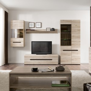 Meblami Elpasso urządzisz przytulne i funkcjonalne wnętrze. 18 różnych modułów można dowolnie ze sobą zestawiać tworząc niepowtarzalne aranżacje salonu. Fot. Black Red  White.