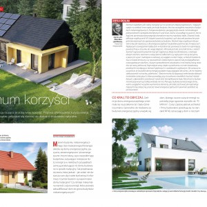 Poruszamy tematykę energooszczędności i poszanowania środowiska przez współczesne budynki.