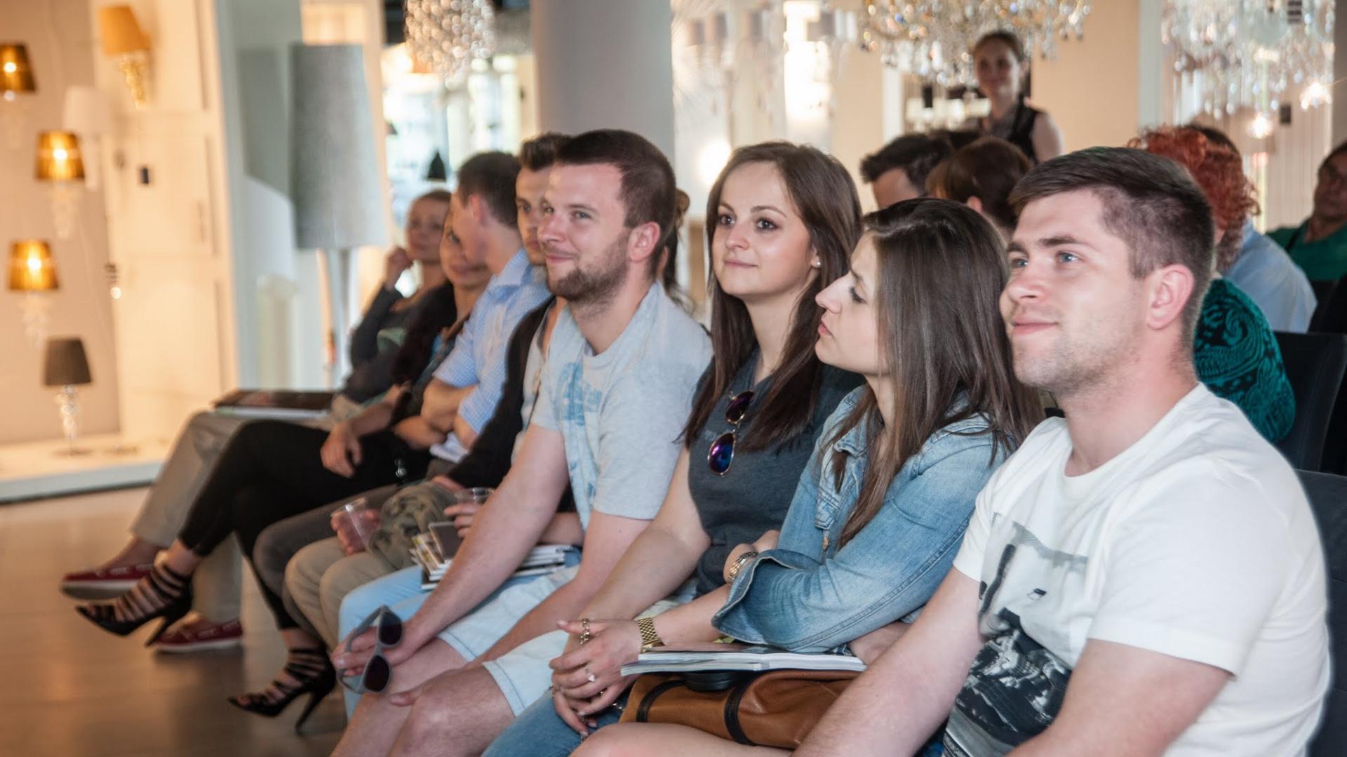 Na spotkaniu to zaprezentowano ofertę festiwalu oraz omówiono stworzenie warunków dla współpracy polskich twórców z przedstawicielami Targów Lipskich. Fot. Organizator