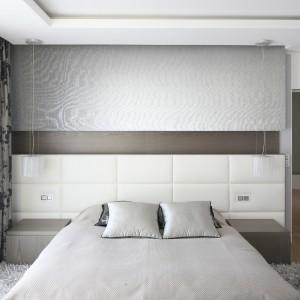Na piętrze, niedaleko sypialni gospodarzy znajdują się także pokoju dwójki dzieci. Projekt: Agnieszka Hajdas-Obajtek. Fot. Bartosz Jarosz.