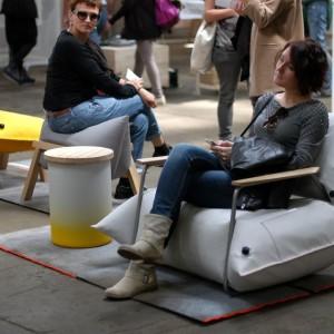 Nowe produkty Malaforu wypróbowane przez odwiedzających festiwal Ventura Lambradte w Mediolanie. Fot. Malafor.