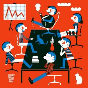 Ekspozycja została zaprojektowana tak, by była przyjazna i bezpieczna dla dzieci. Pomieszczenia pełne krzeseł są wyłożone miękką gąbką, a z głośników słychać narrację lektora. Fot. Gdynia Design Days.