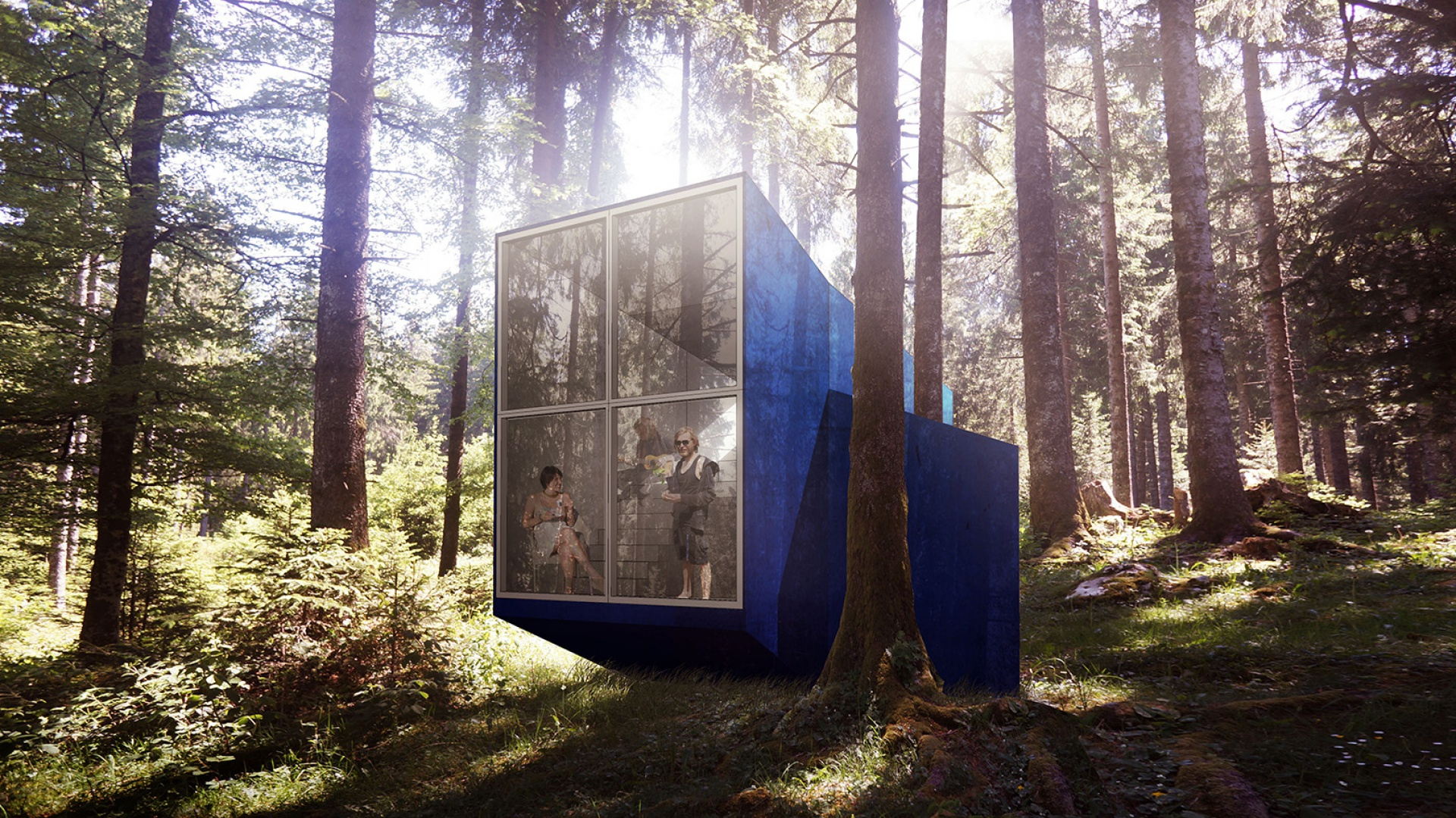 Beetle House to wspólny projekt pracowni: Anonymous, BXBstudio, Architectural Farm oraz Loic Picquet.